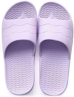 Anbenser Men's/Women's Shower Sandal Soft Foams Antislip Bathroom Slider Sandals Bath Slippers Fast Dry House Slippers