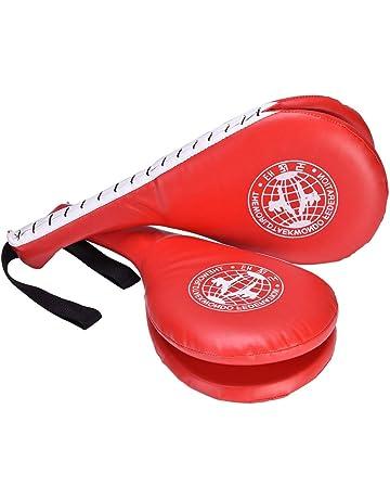 Samfox Kick Pads Boxing Kicking Strike Pad Pies de Las Manos Objetivo del pie para el Entrenamiento de Boxeo