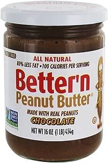 Better N Peanut Butter Chocolate Peanut Butter, 16 oz