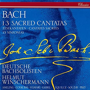 Bach, J.S.: 13 Sacred Cantatas; 13 Sinfonias