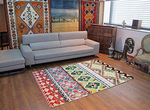 Alfombrista Moderna 30 Alfombra, Acrílico, Multicolor, 140 x 190 cm