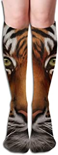 Tube High Tiger Wildlife Keen Sock Boots Compression Long Stockings For Athletics,Travel Socks