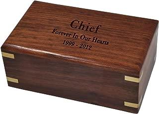 Memorial Gallery Custom Wood Box Pet Urn