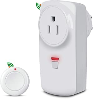 Garbage Disposal Wireless Air Switch- No Drilling on Sink Top-No Wiring-Stick On Sink Top/Counter Top-Compatible with any Garbage Disposal Unit Under 1 HP