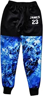 Catamaran Men's Joggers Black James23 Hip Hop Outfit Gym Fitness Worm Workout Sweatpants