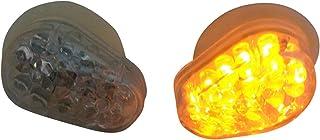 per Yamaha YZF R1 1998-1999 0 fumo WSShop Indicatori di direzione a LED per motocicletta montaggio a incasso