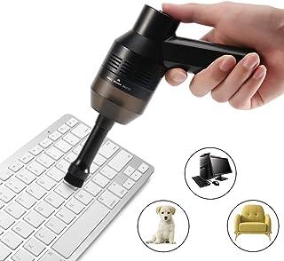 CrazyFire Kit d'Aspirateur Clavier,Rechargeable Mini USB Aspirateur Sans Fil..