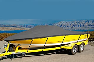 CRV-SBU 7 oz Solution Dyed Polyester Material Custom Exact FIT Boat Cover BAYLINER 195 Classic RUNABOUT 2004-2005
