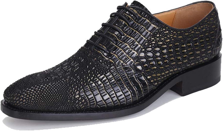 Frühling und Herbst Handgemachte Goodyear High-End-Custom Stilvolle und Bequeme Schnürschuhe Schnürschuhe Schnürschuhe Shoes B07GN2STBF acd8a6