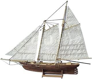Homyl Modelo Velero Barco Vela de Madera Juguete Kits para DIY Bricolaje Montar Ensamblar - America Model