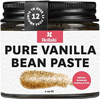 Vanilla Bean Paste for Baking – Heilala Vanilla, the Choice of the Worlds Best Chefs & Bakers, Using Sustainable, Ethically Sourced Vanilla, Multi-Award Winning, Hand-Picked from Polynesia, 2.29 oz