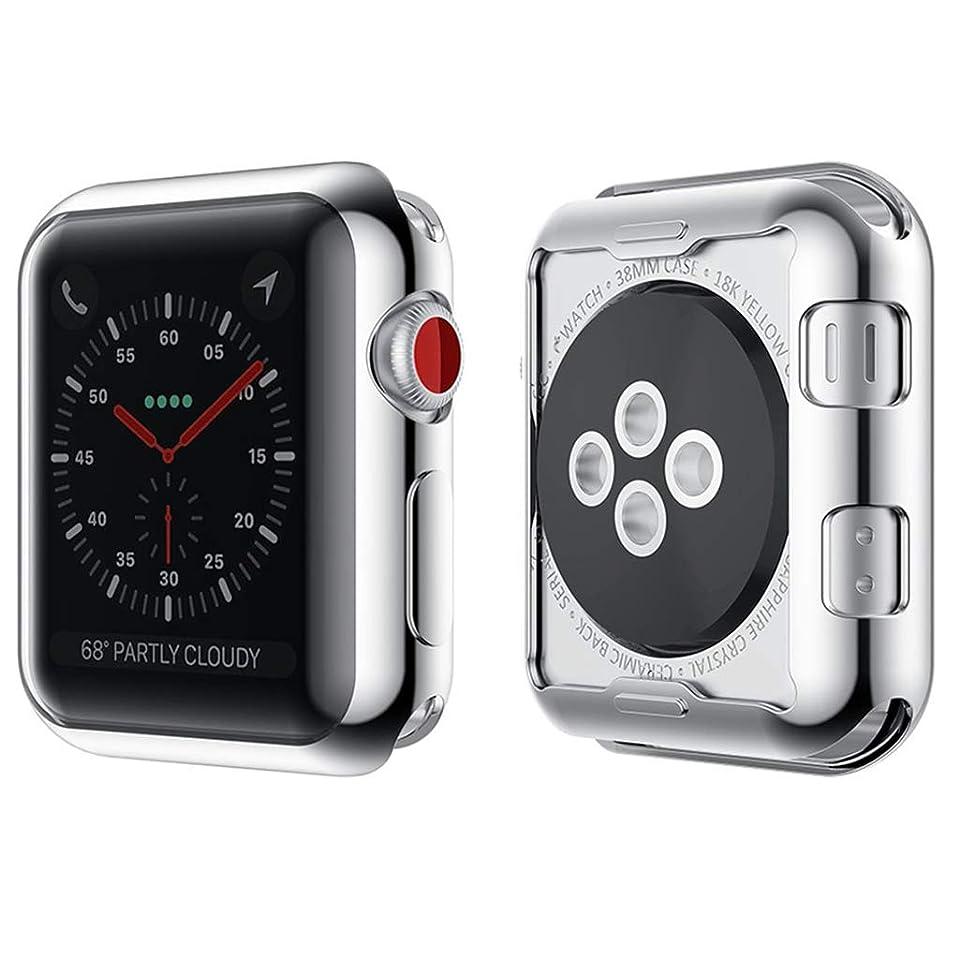 たらい電話をかけるスカリーApple Watch ケース TPU ウオッチ保護ケース 耐衝撃 カバー 軽量 脱着簡単 ソフト 多色 アップル ウォッチ Series シリーズ 4 44mm