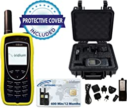 SatPhoneStore Iridium 9575 Extreme Satellite Phone Deluxe Package with Pelican Case, Protective Case & Prepaid 600 Minute SIM Card Ready for Easy Online Activation