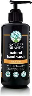 Herbal Choice Mari Natural Hand Wash, Citrus Pine; 6.8floz UV Glass, Made with Organic