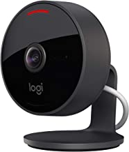 Logitech Circle View Weatherproof Wired Home Security Camera with Logitech TrueView Video, 180° Wide Angle, 1080p HD, Nigh...