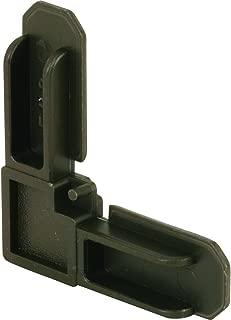 Prime-Line Products MP7719 Plastic Screen Frame Corner, 1/4 in. x 3/4 in, Bronze Finish, (Box of 100),