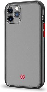 Celly Funda para iPhone 11 Pro MAX, Carcasa Protectora Volcano Antideslizante, Cover Mate Translucida y Botones de Colores...