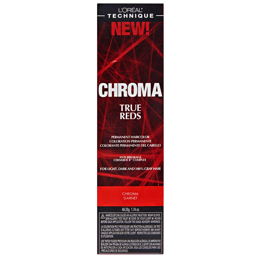 L'oreal Ranking TOP11 Luxury goods Paris Chroma True Reds Color O 1.74 Hair Garnet