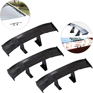 Spoiler ABS Material Automotive for MK5 2011-2017 Semoic Rear Bright Black Spoiler CanT Fit /& R