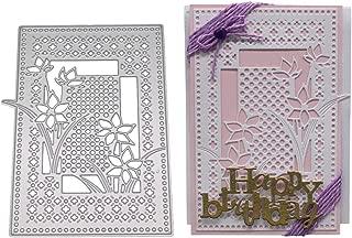 Lotus.flower DIY Dies Cut, New Cutting Dies Metal Cutting Die Embossing Stencils Scrapbooking for Greeting Card Making (F)