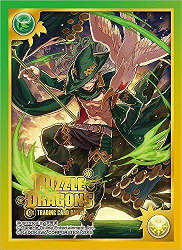 alta calidad general Kadokawa Puzzle & Dragons Awaken Awaken Awaken verde Odin Card Game Character Sleeves Collection PDL-03 Anime Shining Lance Wielder Grodin and PND Pad P&D Illust. Amanohana by  toma
