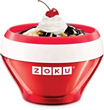 Zoku ZK120-RD Machine à glace en acier inoxydable Rouge