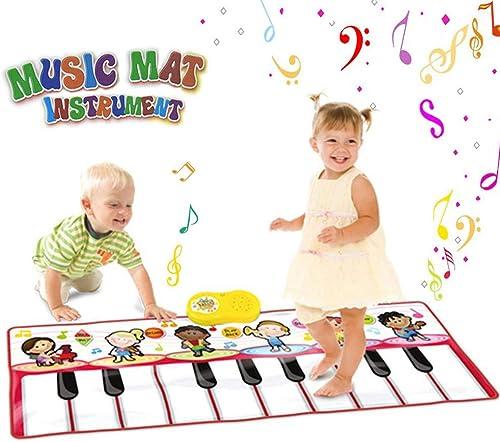 envio rapido a ti JFMBJS Estera del Piano, Estera De La Danza Musical Musical Musical 17 Llaves Tough Mat del Teclado del Juego Difícil para Los Niños, Teclado Musical De La Educación Temprana del Bebé, Juguete del Bebé De La Música  se descuenta