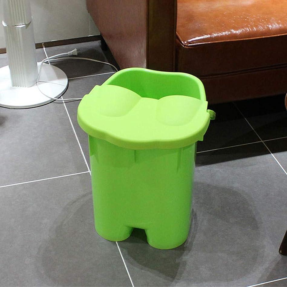 フットバスバレル- ?AMT/マッサージ足湯用バケツ、家庭用スパ、高容量携帯用足浴槽 Relax foot (色 : B)