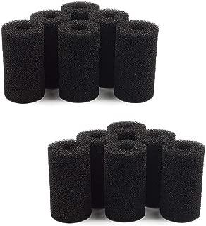 Camessy Pre Filter Sponge Foam Roll Accessories for Fluval Edge Aquarium Fish Tank (12 Pack)