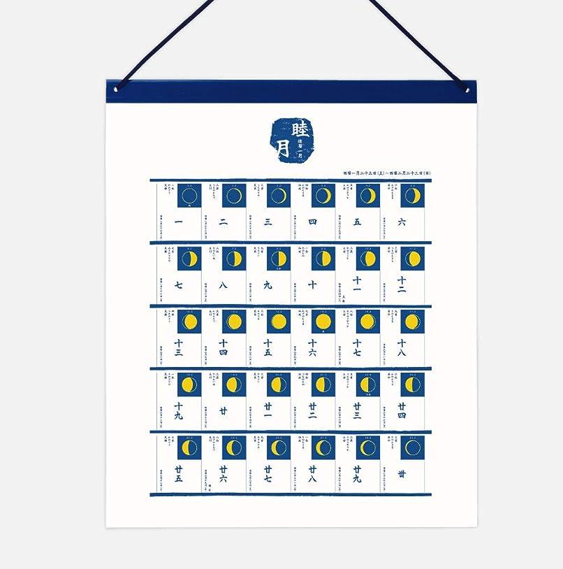 若いフルーツ篭陰暦(いんれき)[2020年版SHICO 月の満ち欠け 壁掛けカレンダー]