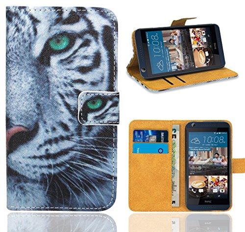 HTC Desire 626 626G Handy Tasche, FoneExpert® Wallet Hülle Flip Cover Hüllen Etui Ledertasche Lederhülle Premium Schutzhülle für HTC Desire 626 626G (Pattern 6)