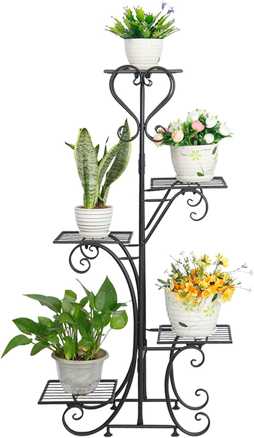 Discount is also underway Courier shipping free shipping Metal Flower Display Stand Outdoor Garden Plant Fl Holder