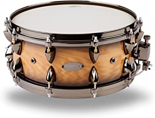 Orange County Drums and Percussion Maple Snare 6x14 Natural Black Burst