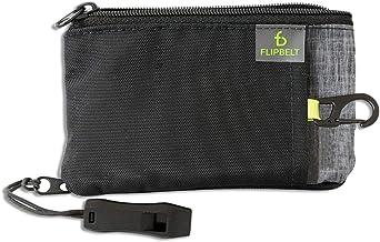 FlipBelt Ultra Wallet, Black Heather