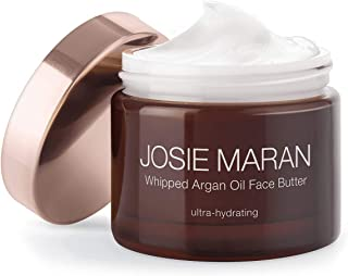 Josie Maran Whipped Argan Oil Face Butter - Nourish and Protect Skin While Reducing Redness and Fine Lines (50ml/1.7oz, Un...