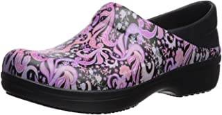 Crocs Women's Neria Pro II Embellished Clog | Slip Resistant Work Shoes