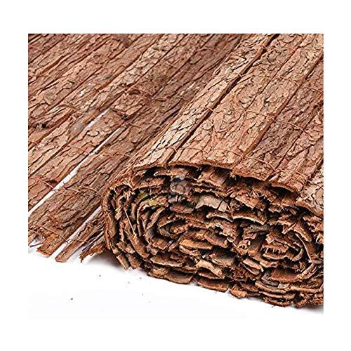 Suinga - CORTEZA NATURAL 1,5 x 5 m, simple cara para OCULTACION, sombraje o delimitación de su jardín.