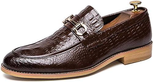 Dilunsizrf Hommes 47 Grand Ensemble de Chaussures Mode Cuir Chaussures Chaussures Hommes Chaussures Sauvage,marron,41  designer en ligne