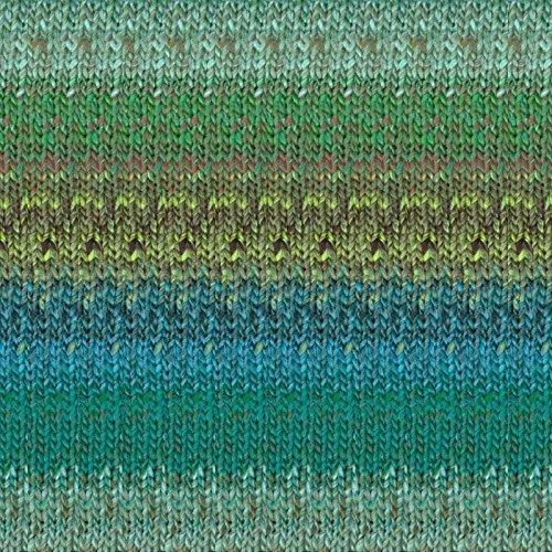 Noro Kagayaki yarn (07 - Jade-Forest-Green)