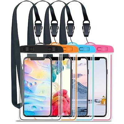 GLOUE Waterproof Case Universal Waterproof Phon...