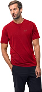 Jack Wolfskin Crosstrail T Men's Quick Drying and Odor Inhibiting T-Shirt