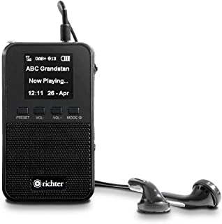 Richter DAB+ Pocket Portable Digital Radio with FM