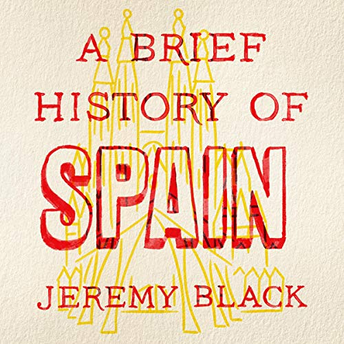 A Brief History of Spain audiobook cover art