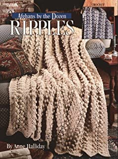 Afghans By the Dozen-Ripples, Crochet(Leisure Arts #2861)