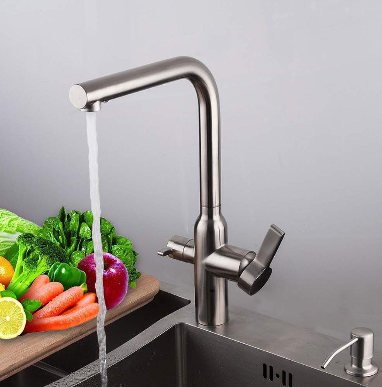 Ayhuir Küchenarmatur Spülbecken Wasserhhne Wassermischer Armaturen Spültischarmaturen Wasserfall Wasserhahn
