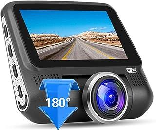 JenNiFer 360 Gradi Auto Posteriore Anteriore Vista Backup Retromarcia Telecamera HD Ccd Coms Visione Notturna Parcheggio Macchina Fotografica