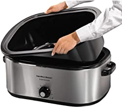 Hamilton Beach 28 lb 22-Quart Roaster Oven with Self-Basting Lid (Stainless Steel)