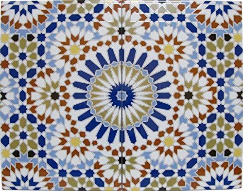 Saharashop Marokkanische Wandfliese Palais