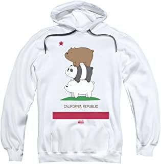Trevco We Bare Bears Cali Stack Unisex Adult Pull-Over Hoodie For Men and Women
