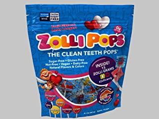 Zollipops - Valentine's Day Variety Pack - Clean Teeth Lollipops   Anti-Cavity, Sugar Free Candy With Xylitol For Healthy,...
